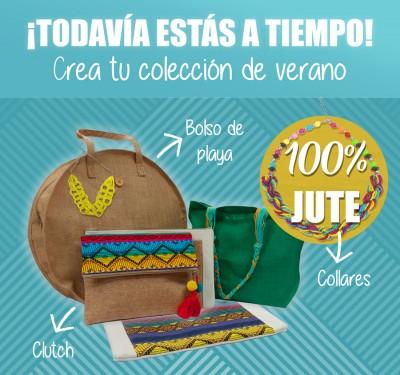 #Bolsos #Cluth #Collares #Jute #natural.